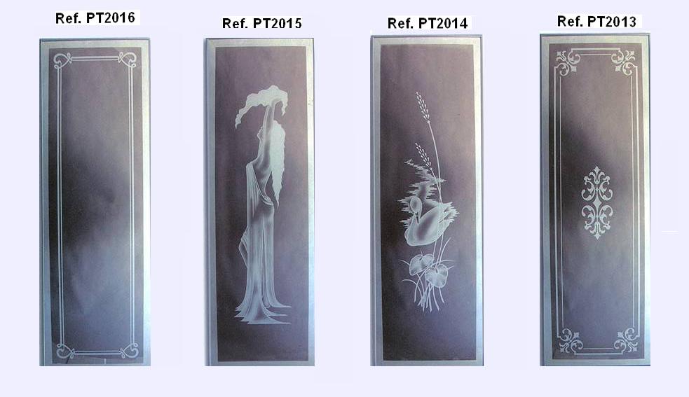 Grupo corbalan vidrio para puertas interiores - Cristales decorados para puertas ...