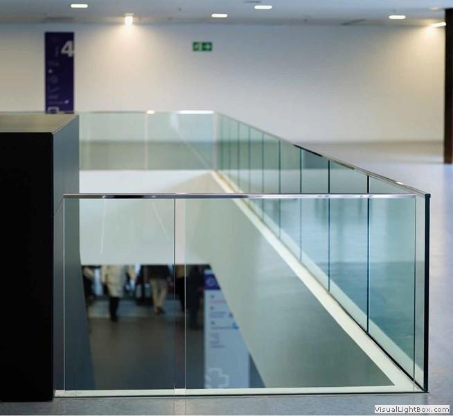 Barandillas de aluminio para terrazas finest fabricamos for Barandillas de cristal para terrazas
