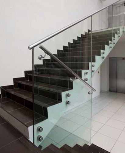 Grupo corbalan balauscid barandilla de vidrio o cristal - Barandillas cristal para escaleras ...