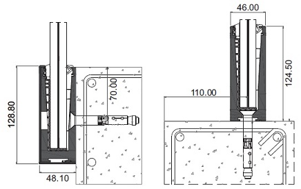 Barandillas de cristal exterior escalera exterior de for Detalle barandilla vidrio